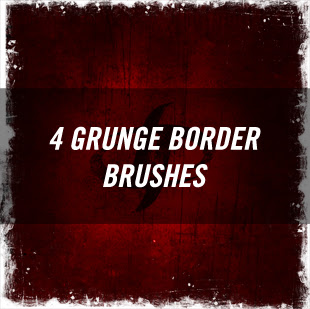 photoshop border brushes