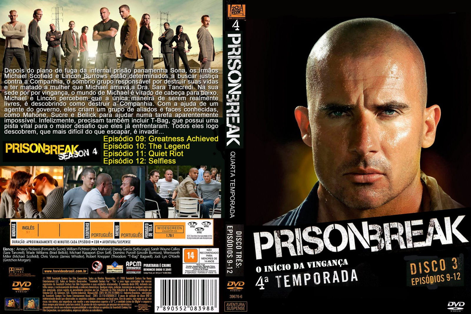 prison break 4 temporada