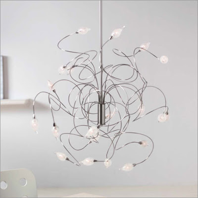 Interior lighting design unique lighting fixtures for Cool modern light fixtures