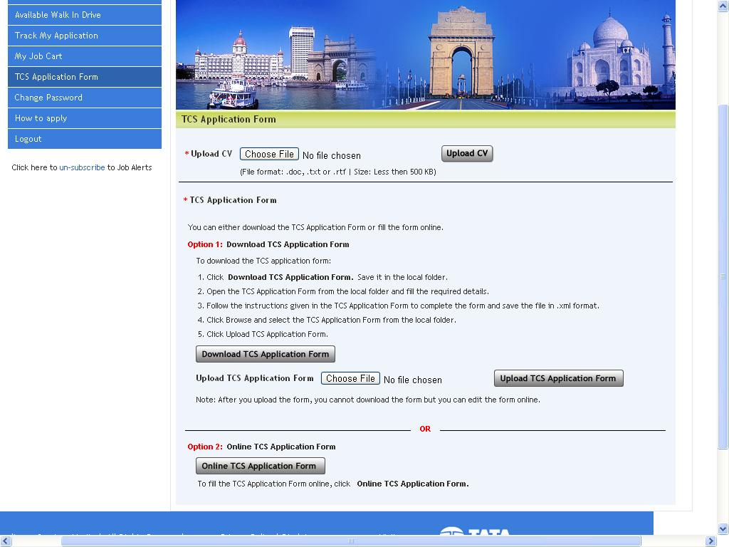 tcs website to upload resume 28 images resume cover letter