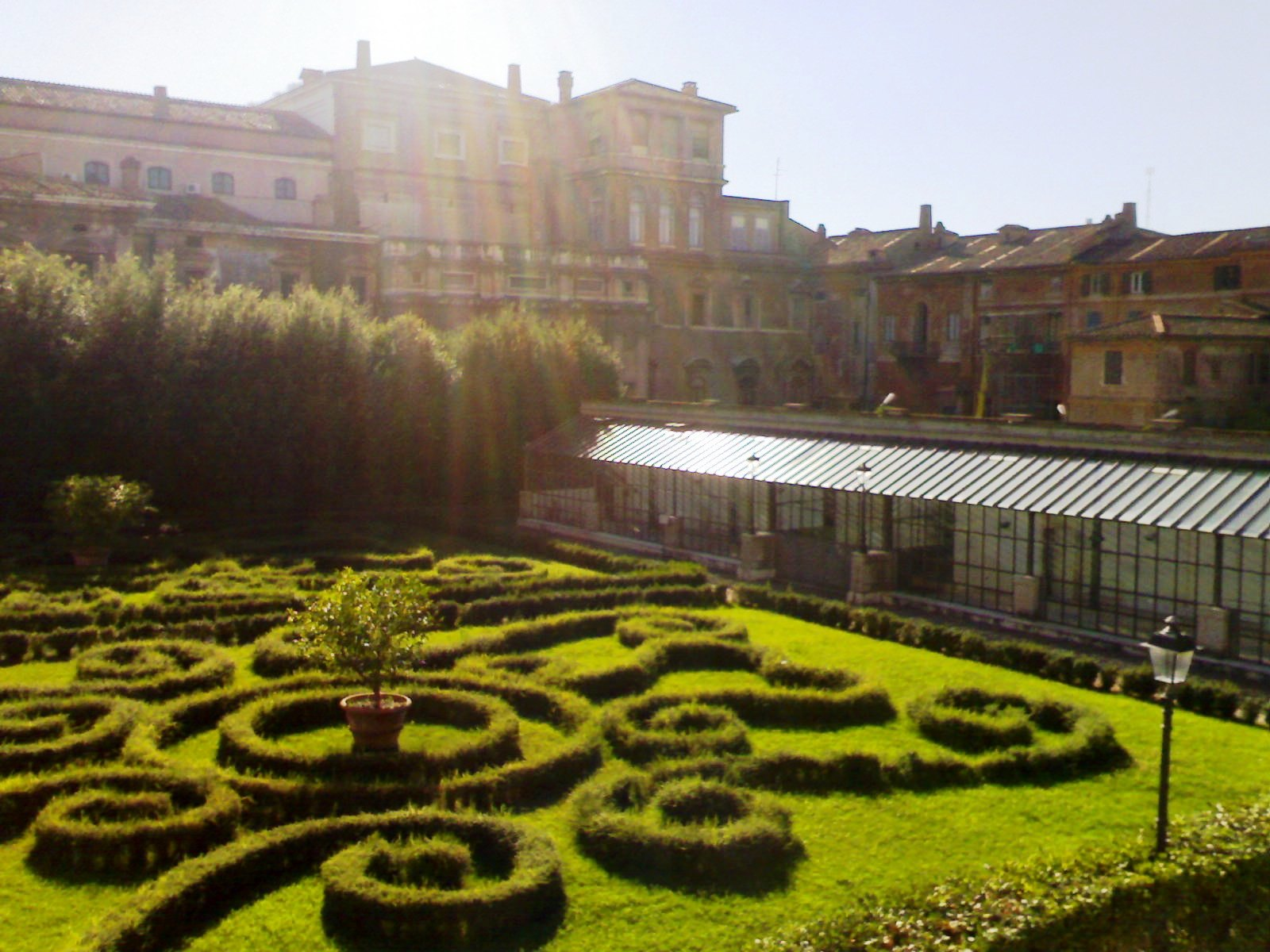 Roma fa schifo i giardini segreti di palazzo barberini - I giardini di marzo ristorante roma ...
