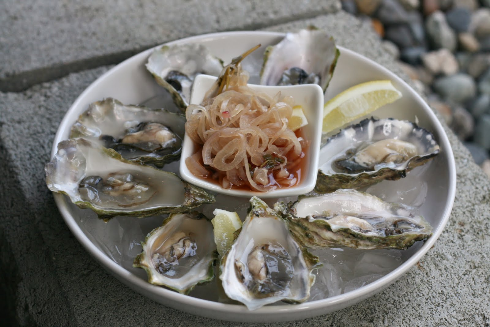 how to eat oysters properly