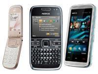 Nokia Rilis E72 Nokia 5530 XpressMusic Nokia 3710 Fold
