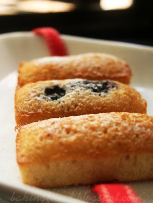 Blueberry Financiers Recipes — Dishmaps