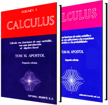 Calculo Tom Apostol Vol 1 y 2 en Español