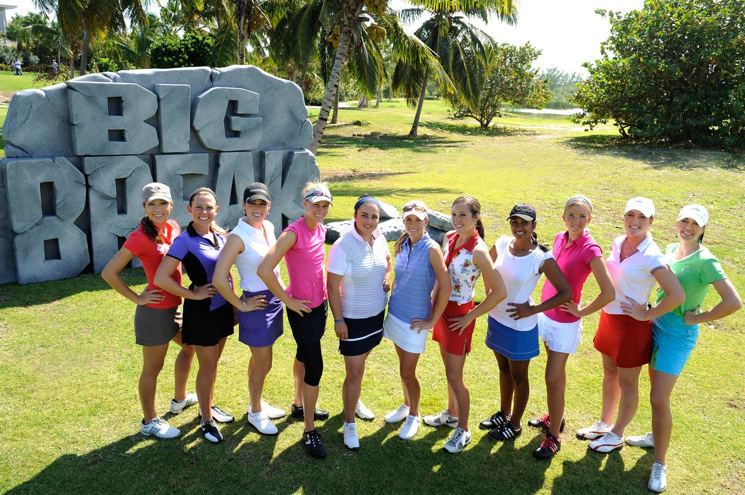 Greg Norman And Sandals Host 11 Talented Women Golfers Looking For Their Big Break Golfgal