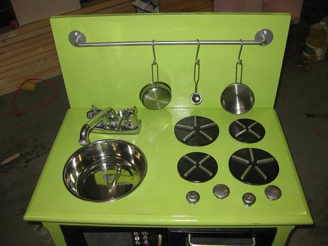 diy play kitchen stove burners ~ new little tikes kitchen stovetop