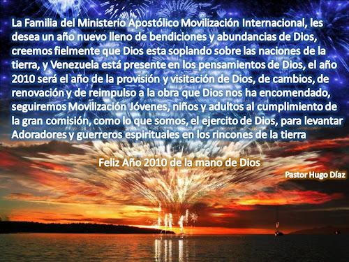 AÑO 2010 DE VISITACION Y PROVISION DE DIOS