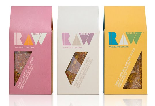 Raw Health Packaging