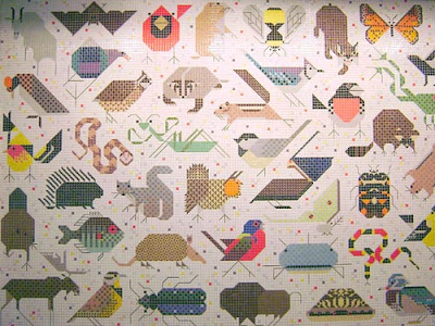 Charley Harper Mural