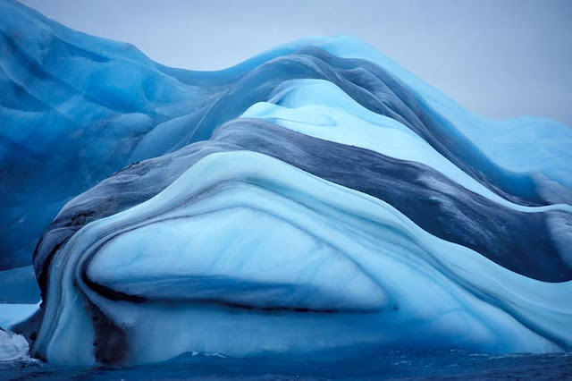 Striped Icebergs
