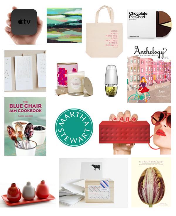 Martha Stewart Gift Guide