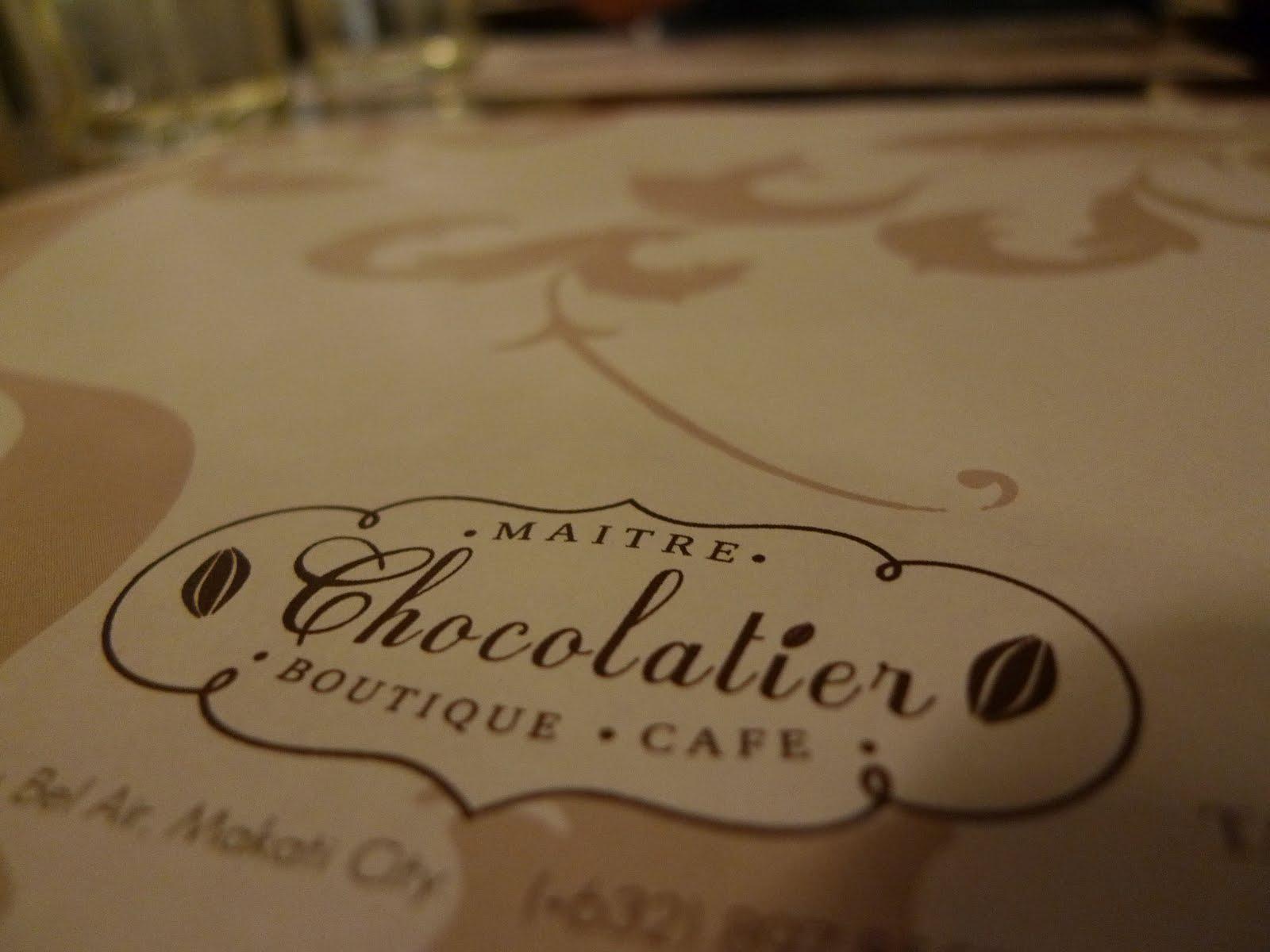 Eats Amazing Maitre Chocolatier