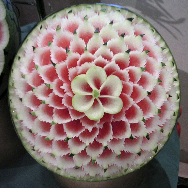 Amazing art watermelon carvings