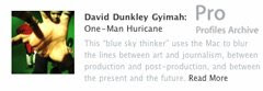 Apple Pro profile of David Dunkley Gyimah