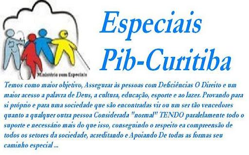 Especiais - PIB Curitiba