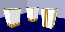 Diseño de macetas en 3D