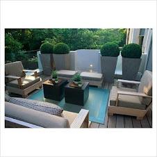 Una terraza con estilo propio