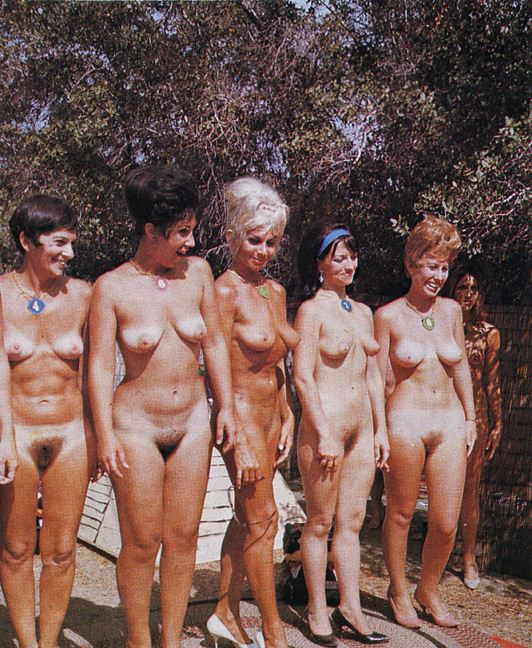 Nudist pageant contest free body