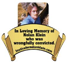 Nolan Klein Memorial