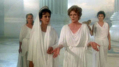 Ursula Andress, Claire Bloom, Maggie Smith, Susan Fleetwood, Clash of the Titans