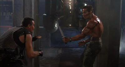 Vernon Wells, Arnold Schwarzenegger, Commando