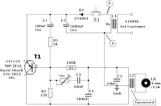 electronic circuit rh electronics circuit component blogspot com Doorbell Ringer Covers Rustic Doorbell Ringer