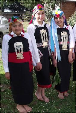 Niñas Mapuches