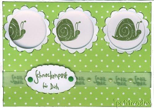 petitmadams bastelbox: Verspätete Geburtstagskarte