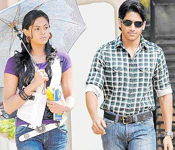 Karthika and Naga Chaitanya in  Josh