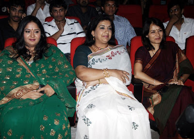 Radha and Amala in Josh Audio Lunch