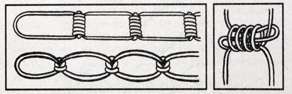 Как сделать лестницу из веревки