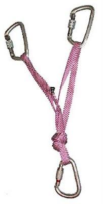 V-образная навеска при помощи стропы