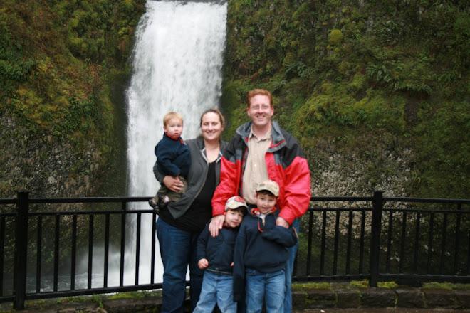 Ben, Rachel, Benjie, Evan, & Noah