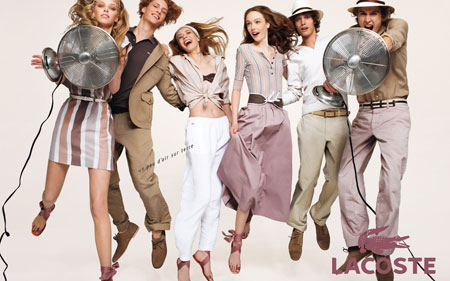 lacostes spring summer ad campaign 20092 - ♥ Fashion Princess ♥