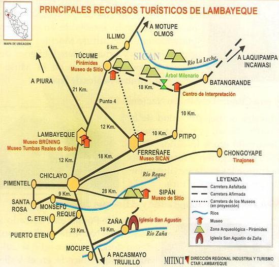RECURSOS TURISTICOS LAMBAYEQUE