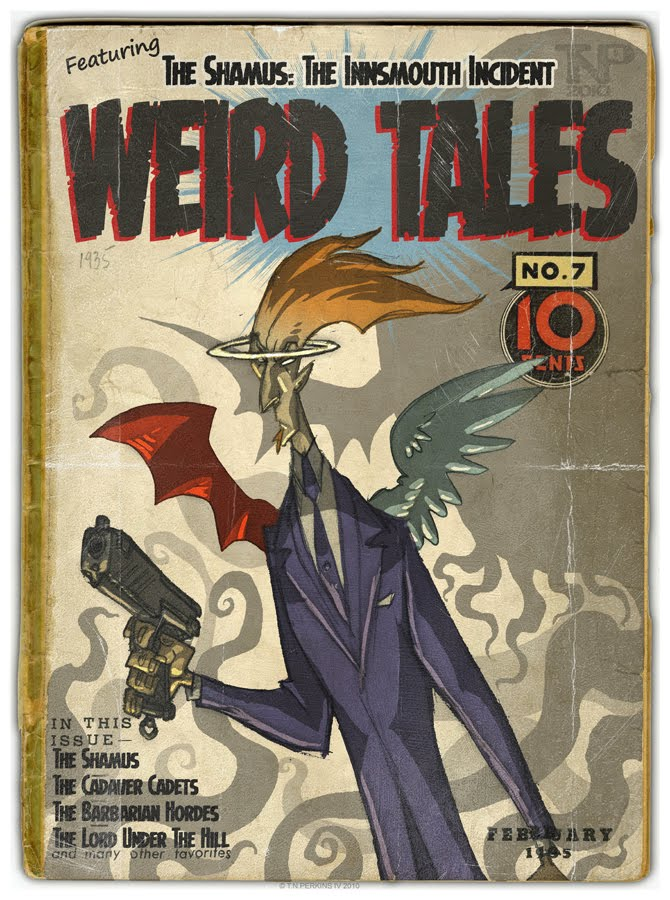 Thomas Perkins&#39; Weird Tales Number 7