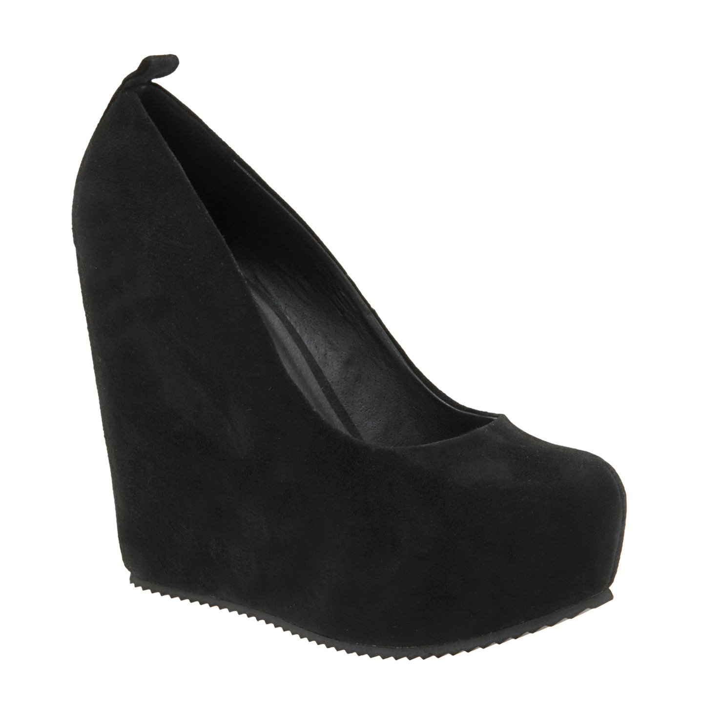 excshoesme wanted black wedge pumps