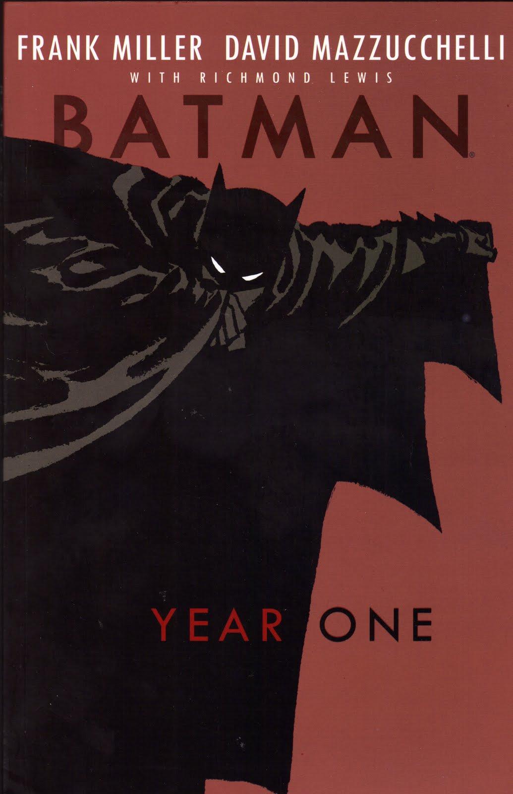 Permanently Weird Batman Year One