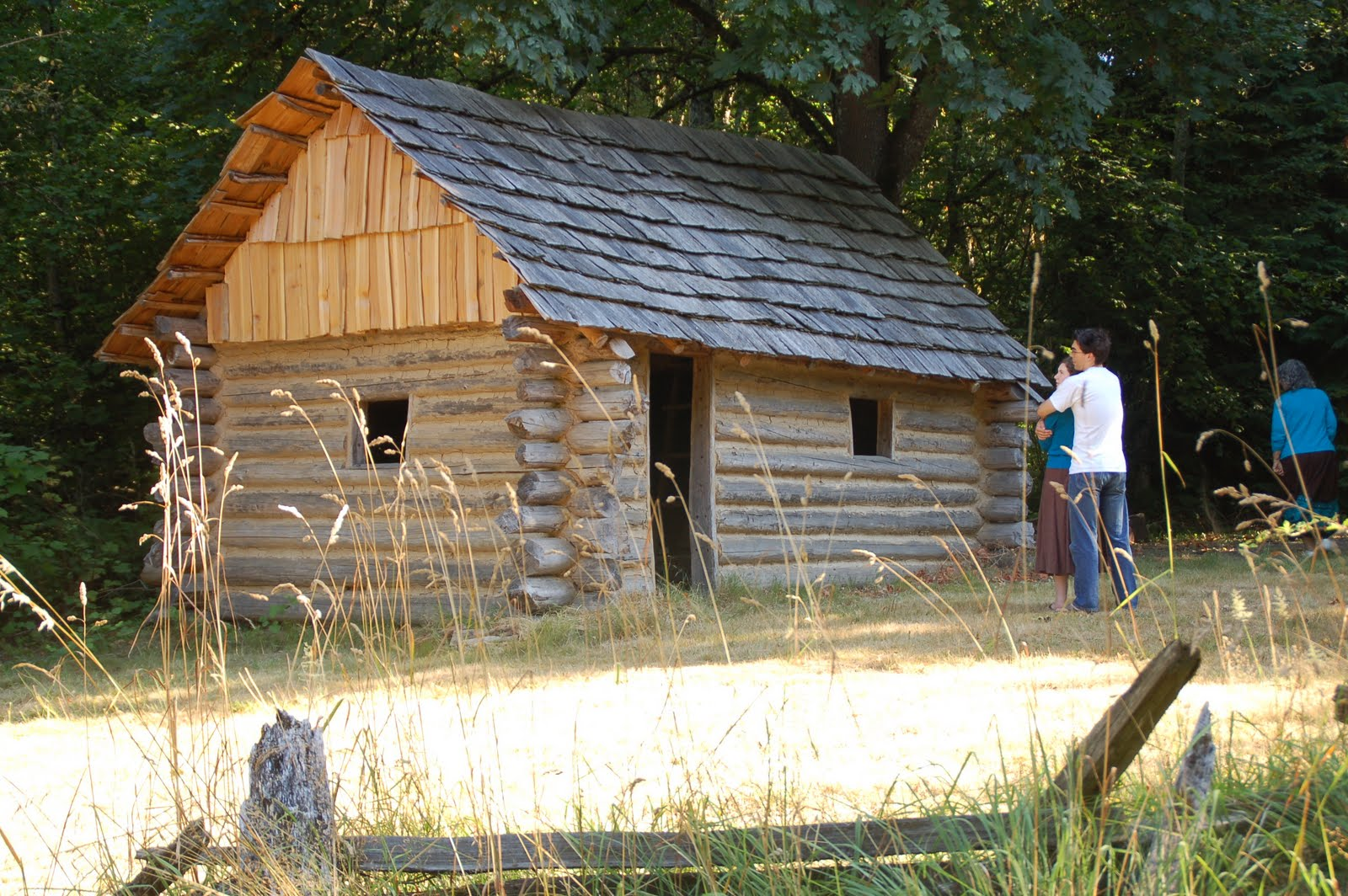 19th century log cabin project for Log cabin project