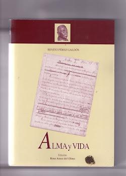 Alma y vida-Pérez Galdós-Ediciones Tantín-Santander