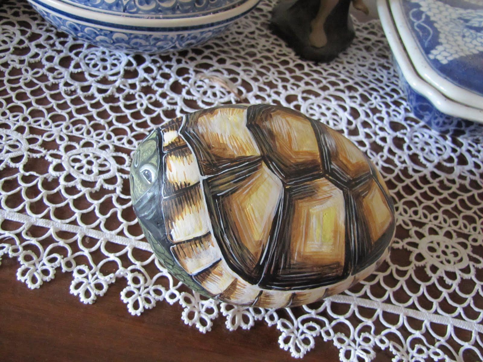 Le pietre magiche un biondo tartarugo corazzato che ha for Sassi per tartarughe