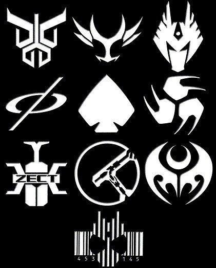 Kamen Rider Den O Logo ๑۩ Universo Zeus ۩...