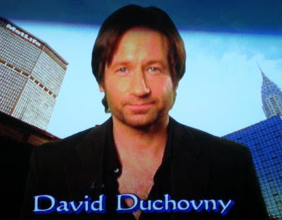 david duchovny young. and David Duchovny. david