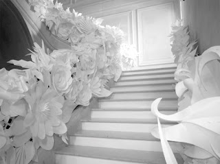 white+chanel+stairway White