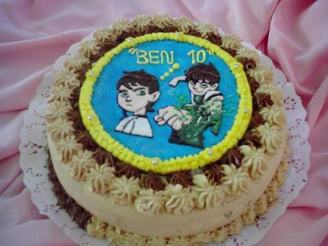 Torta Placa Ben10