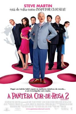Filme Poster A Pantera Cor de Rosa 2 DvDrip Rmvb Dublado