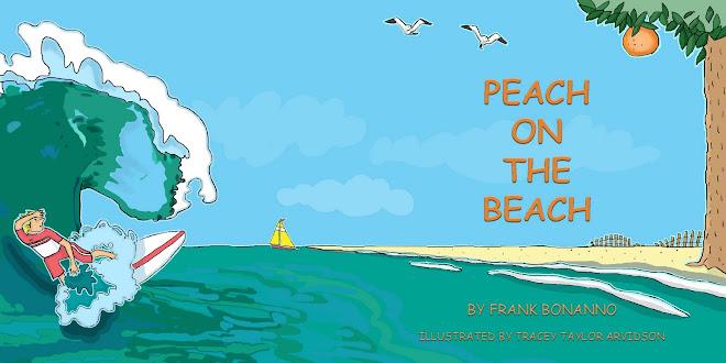 Arvidson Illustrates Peach on the Beach