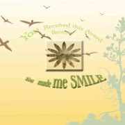 My smile award from Ghunibee Scraps!
