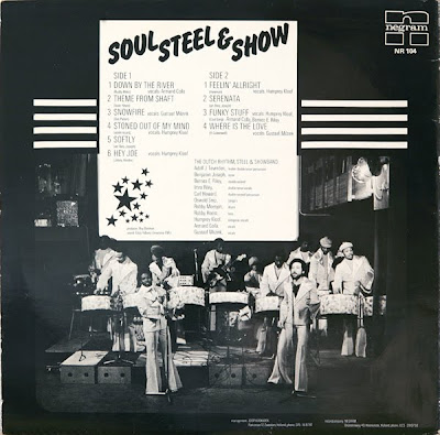 DUTCH RHYTHM STEEL & THE SHOWBAND - Soul, Steel & Show (LP Negram 1975)